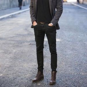 GAP Slim Fit Vintage Faded Black Jeans